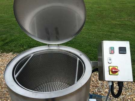 how to clean stainless steel kettle inside